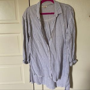 Urban Outfitters Stripe Button Down